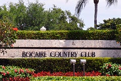Bocaire Country Club Boca Raton