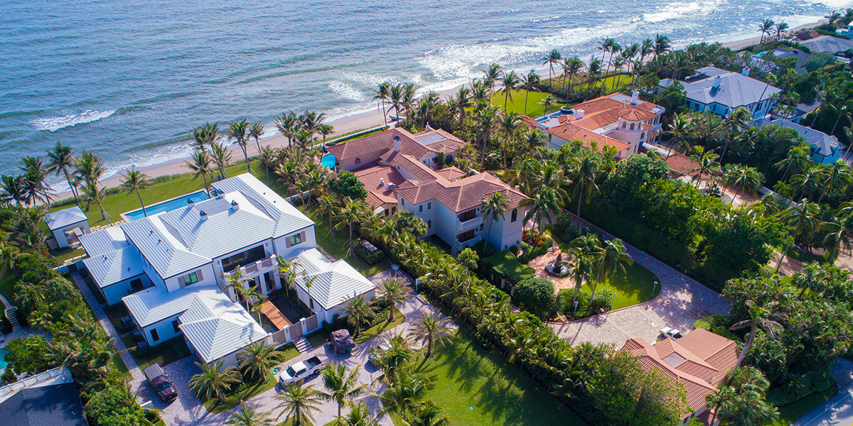 Beachfront Homes Palm Beach