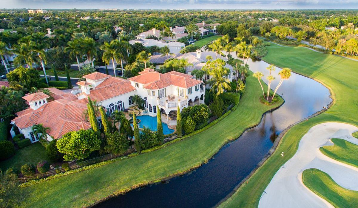 Addison Reserve Country Club Homes in Delray Beach