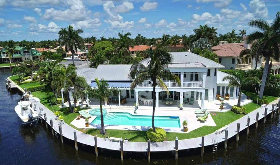 Boca Harbour Waterfront Homes in Boca Raton