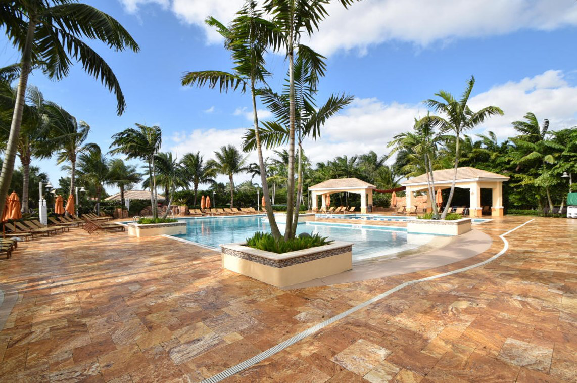 Bocaire country club homes for sale boca raton golf for Pool design boca raton