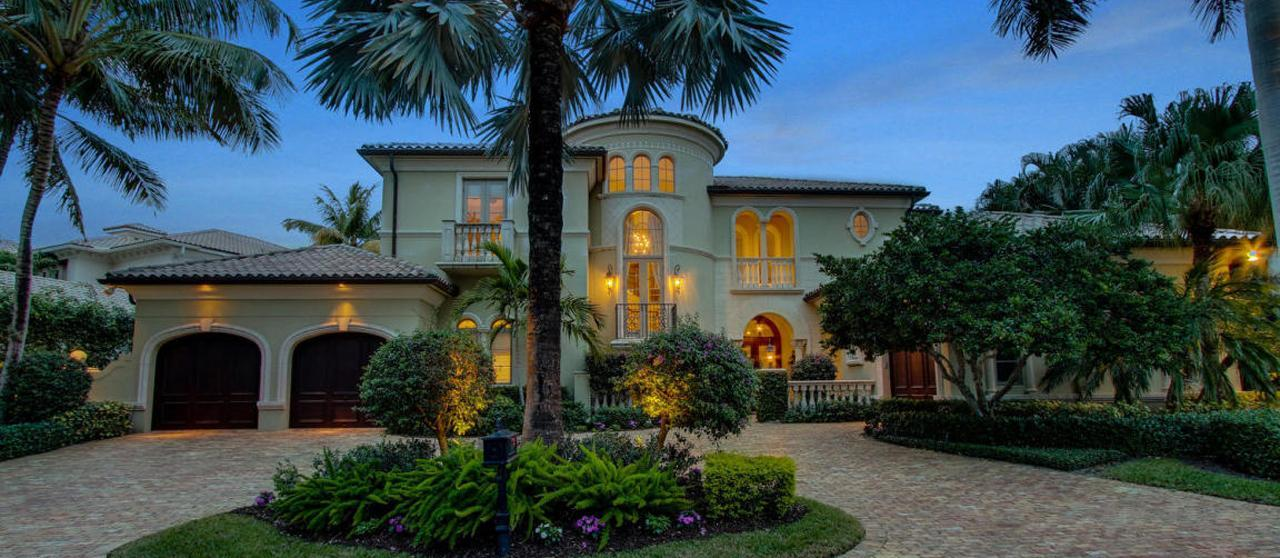 Magnificent Waterfront Homes In North Palm Beach Harbour Isles Homes For Sale