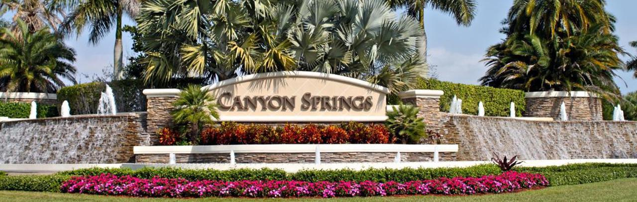 Canyon Springs New Homes Boynton Beach New Construction
