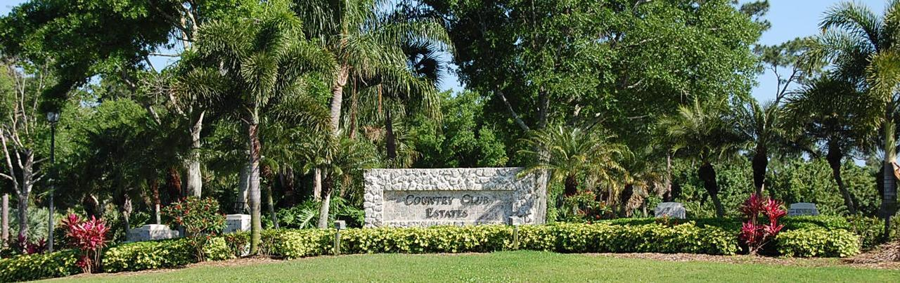 Country Club Estates In Port St Lucie