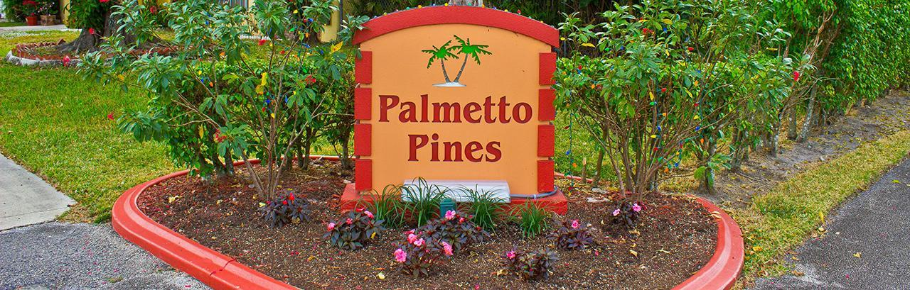 Palmetto Pines Real Estate in Boca Raton