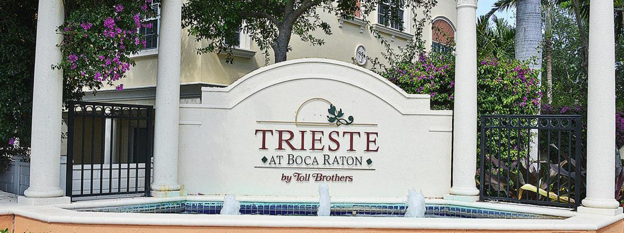 Trieste Townhomes for Sale | East Boca Raton Real Estate