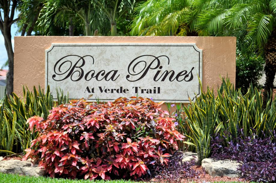 Boca Pines at Verde Trail Townhomes in Boca Raton, FL