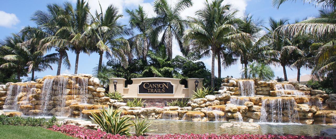 Canyon Trails Homes For Sale Boynton Beach New